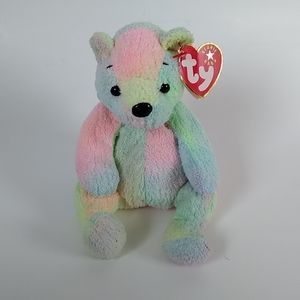 Ty beanie babies collection Mellow colourful bear NWT